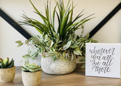 Beautiful Journey Counseling - Waiting Room decor